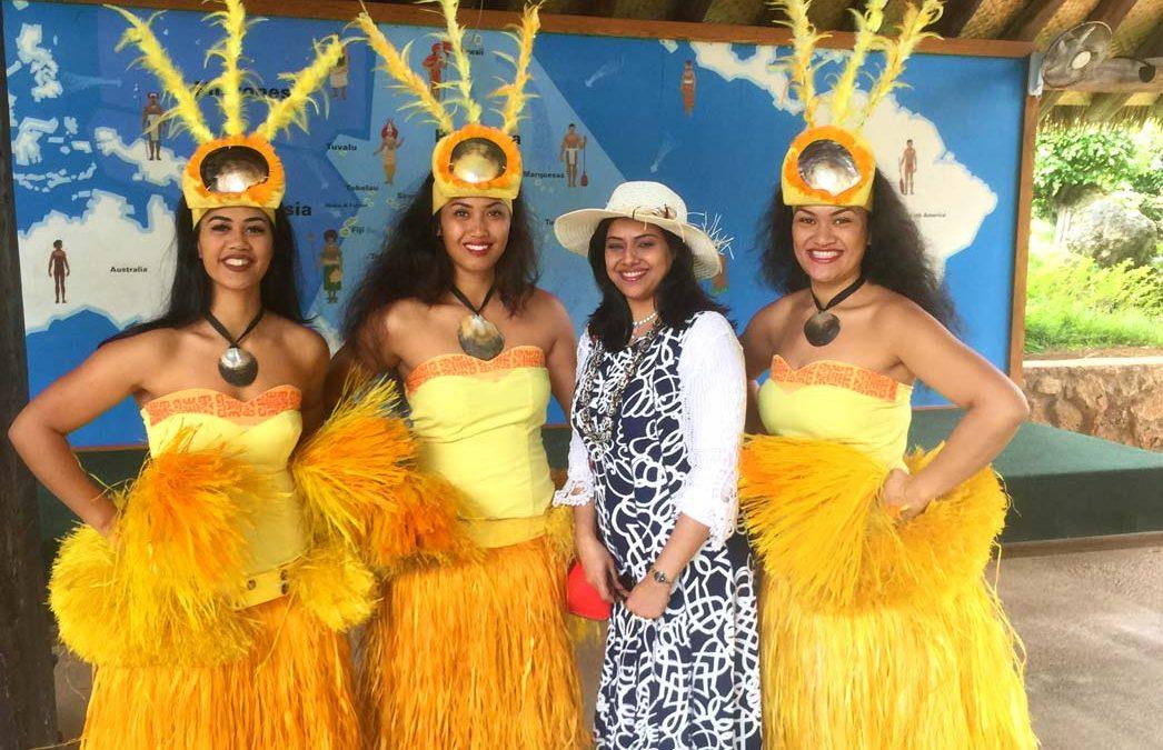 Blanca Vasquez goes to Hawaii