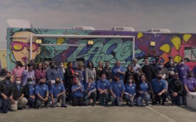 Video: North Texas Bells Taco Truck Charity Events